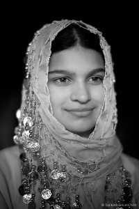 Priya - a portrait in monochrome