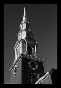 Park Street Church Steeple